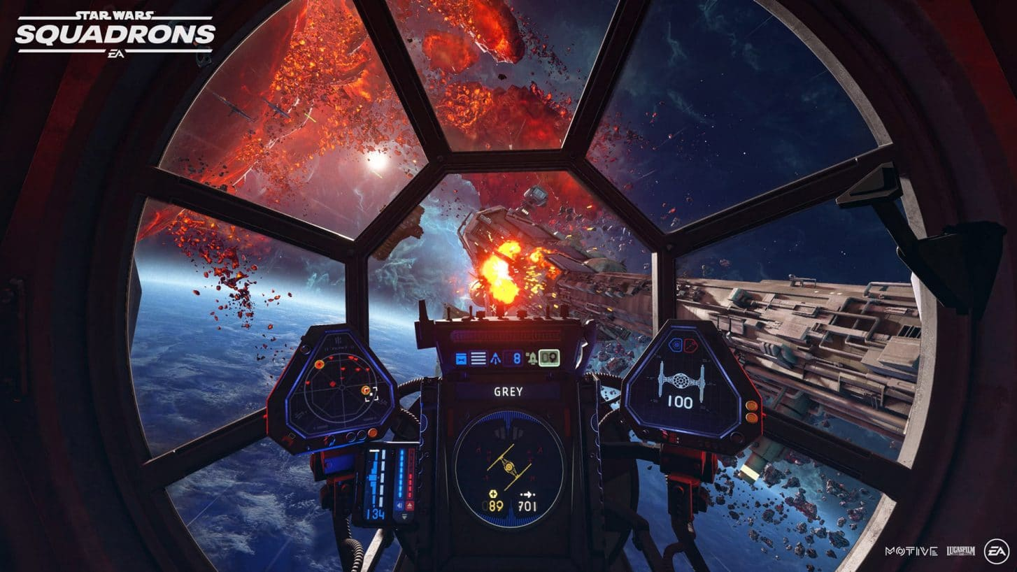 star wars: squadrons tie fighter cockpit