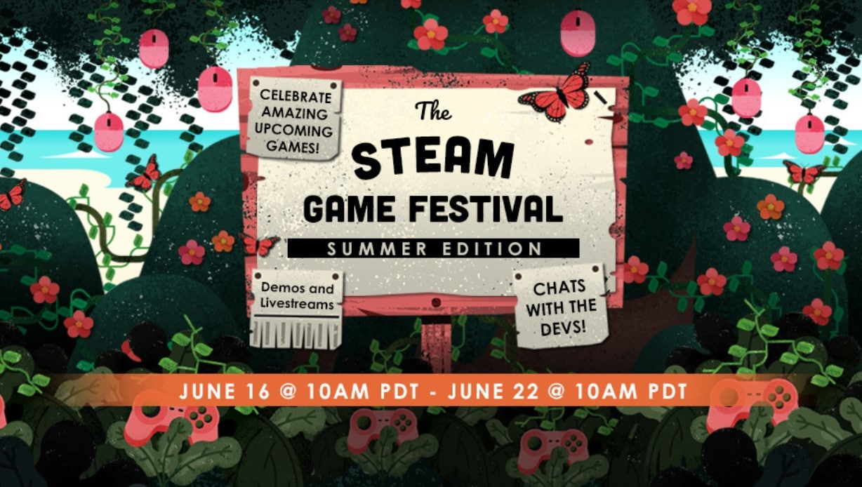 steam game festival summer edition 2020 banner image