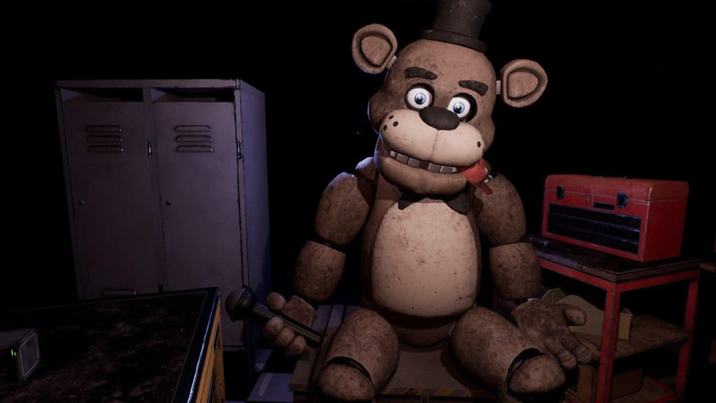 Five Nights At Freddy's VR teddy bear