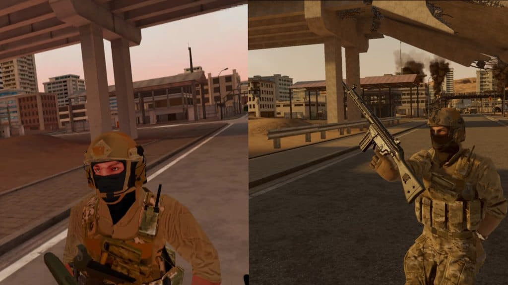 Onward Graphics Comparison Avatars