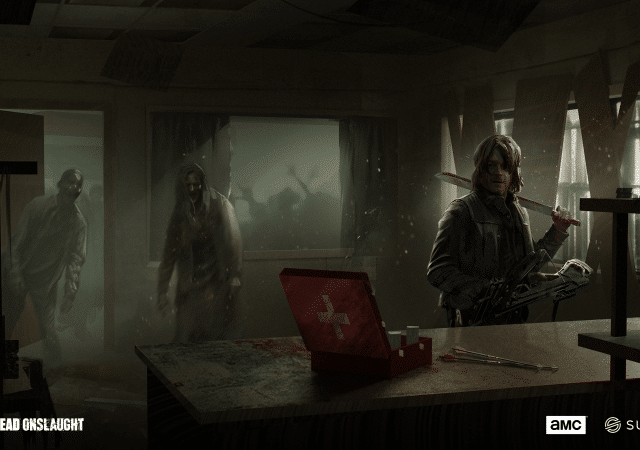 the walking dead onslaught concept art daryl