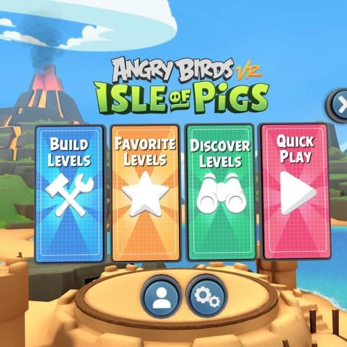 angry birds vr online level builder