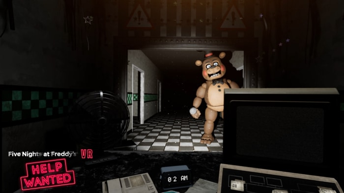 five nights at freddys vr screenshot hallway