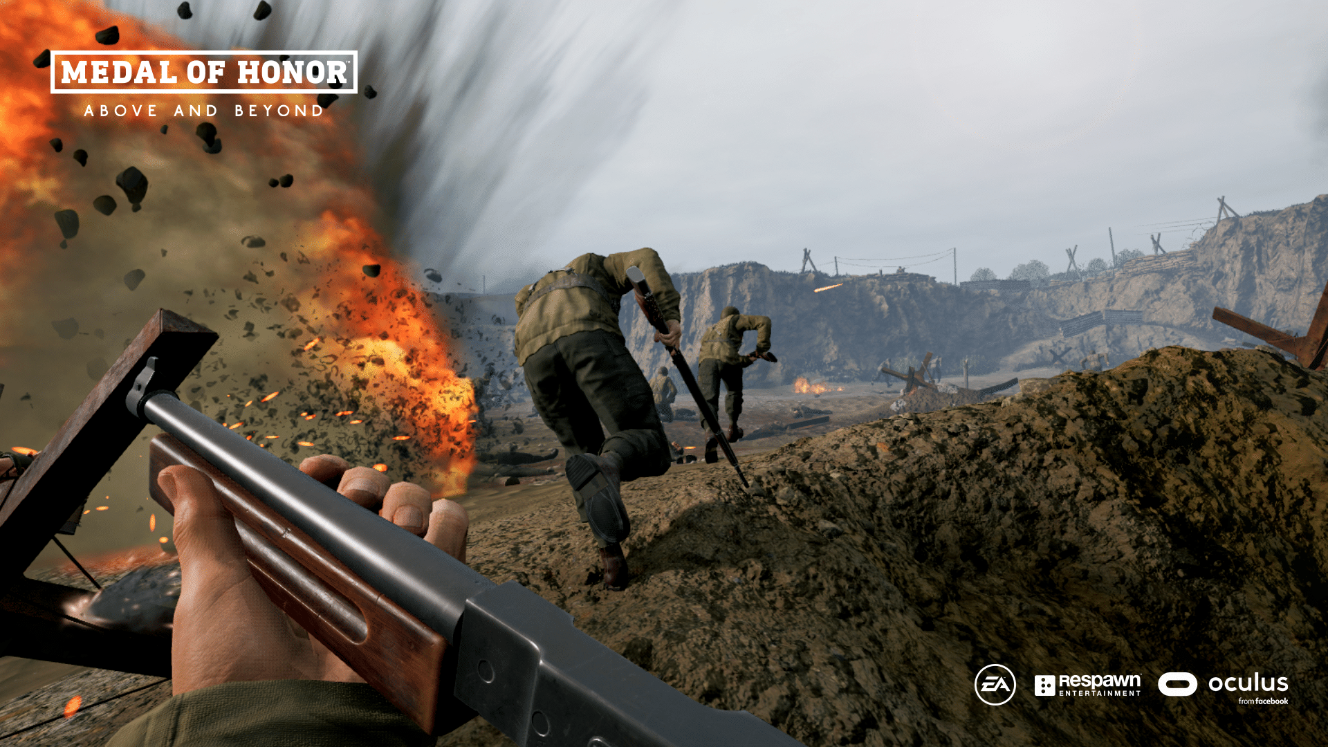 medal of honor vr steam above and beyond vr explosion