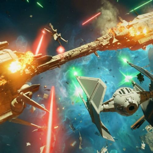 star wars squadrons tie fighter big space battle