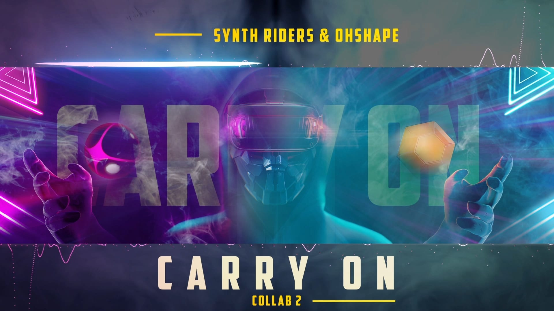 Cover Art - Synth Riders & OhShape Collab