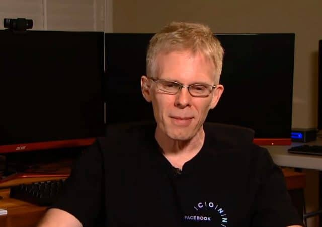 John Carmack Embarrassed
