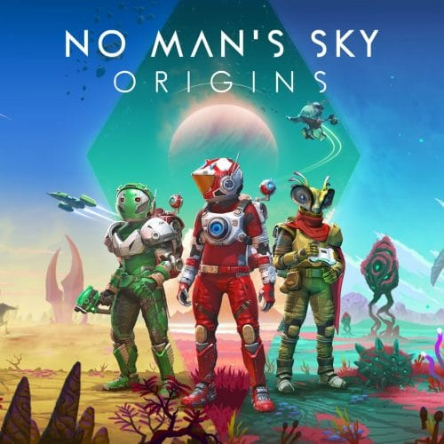 No Man's Sky Origins Update Key Art