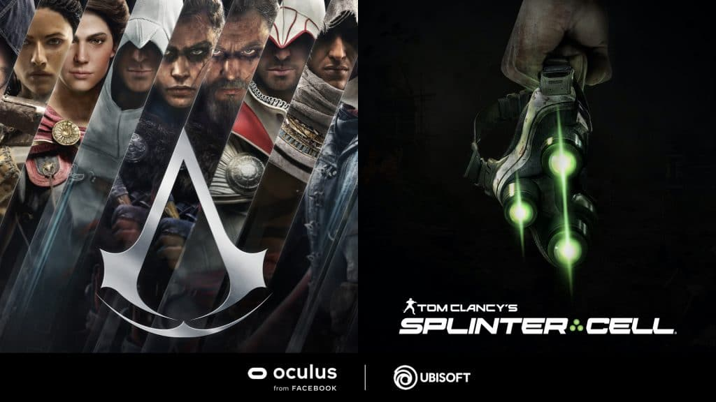 Splinter Cell VR Assassin's Creed VR Confirmed