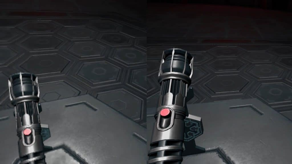 Vader Immortal Fixed Foveated Rendering