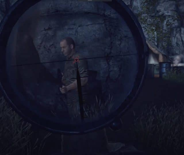 sniper elite vr scope screenshot