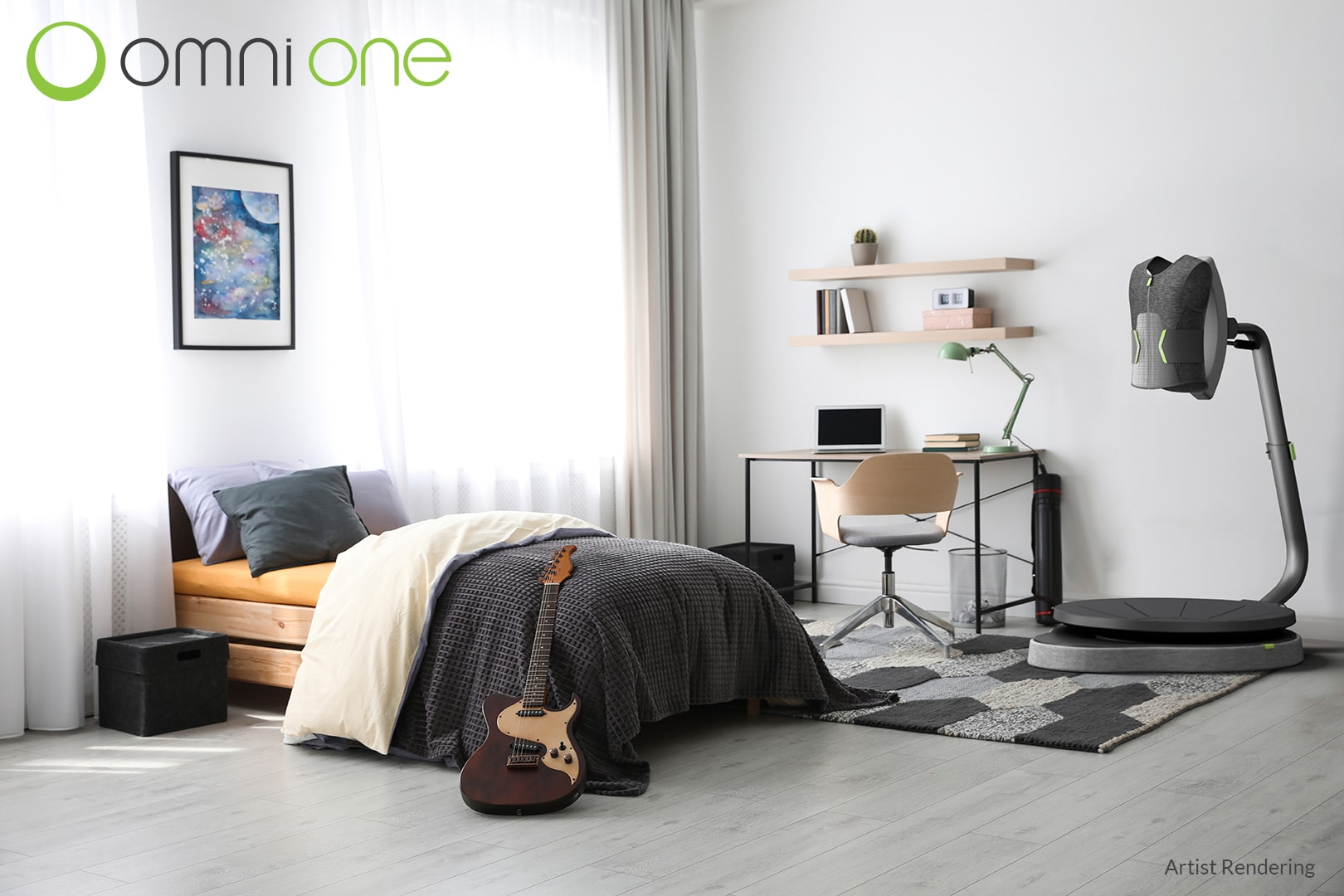 Omni one vr treadmill bedroom