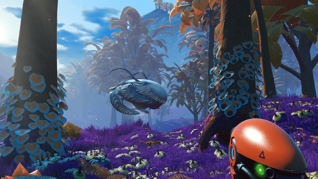 No Man's Sky PS5 first-person
