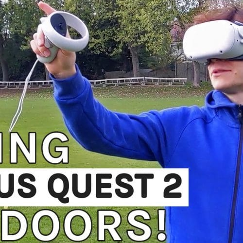 Oculus Quest 2 Outside