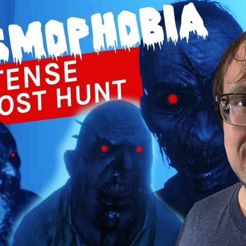 Phasmophobia VR Stream