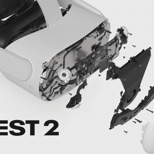 Quest2 Exploded View