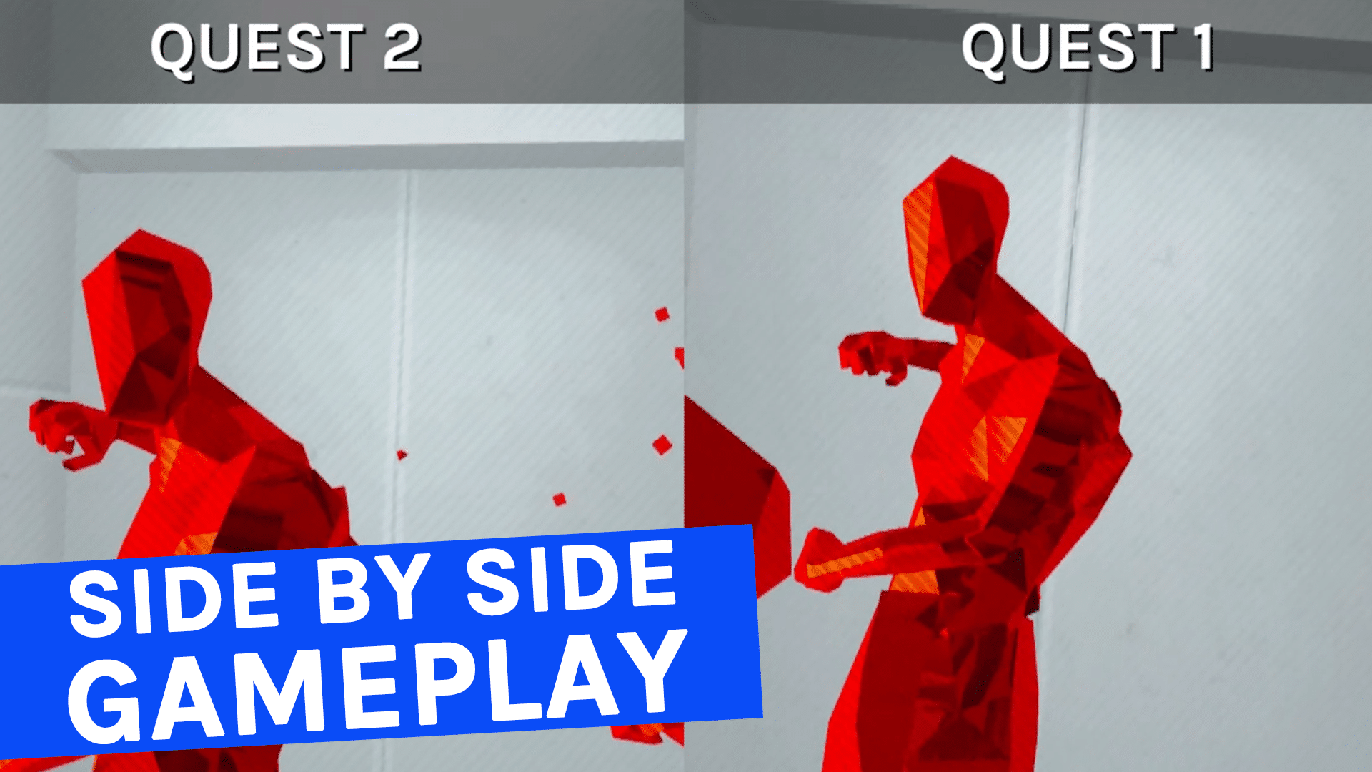 SUPERHOT VR Quest 2 & Quest 1 Gameplay