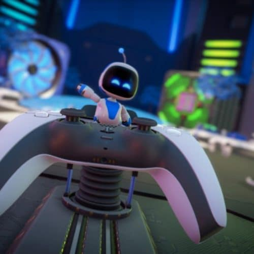 astro bot controlle waving ps5 astro's playroom