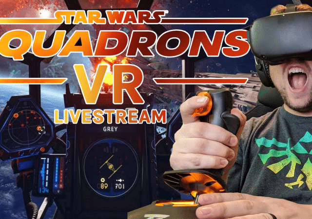 star wars: squadrons vr livestream star wars squadrons