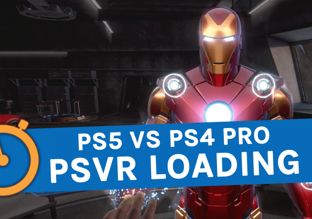 PS5 VR Load Times
