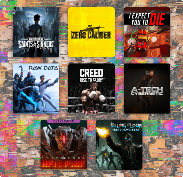humble fall vr bundle games collage