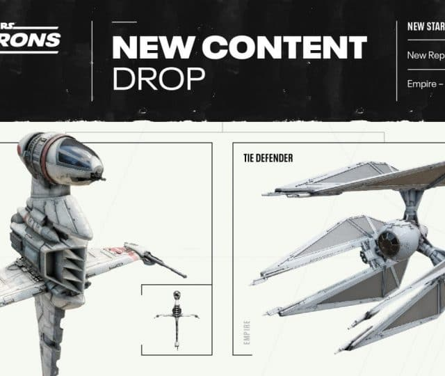 star wars squadrons dlc b-wing and tie defender