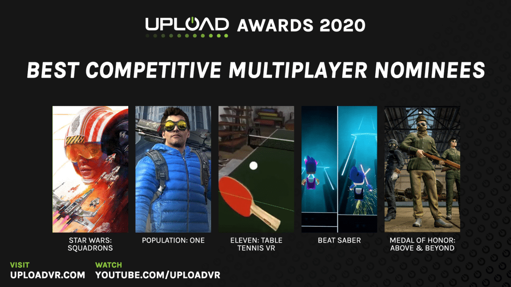 Best Competitive Multiplayer Nominees
