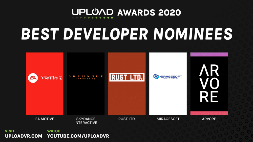 Best Developer Nominees