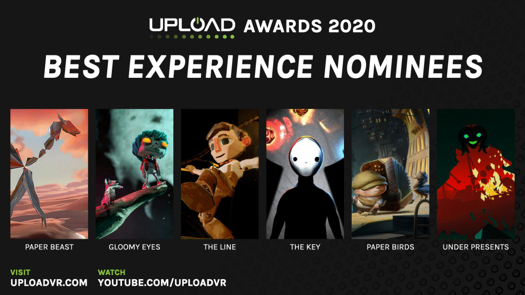 Best Experience Nominees