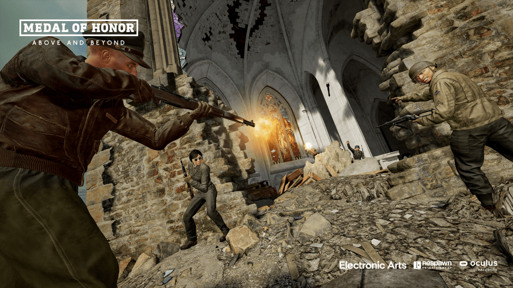 medal of honor above and beyond multiplayer screenshot