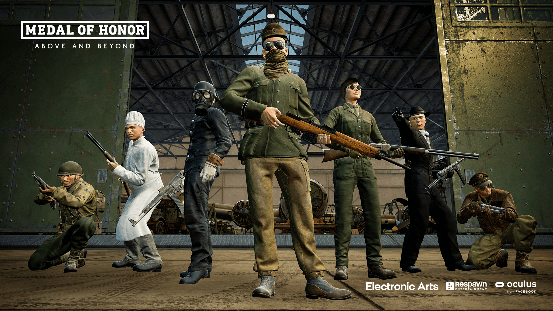 medal of honor above and beyond character skins