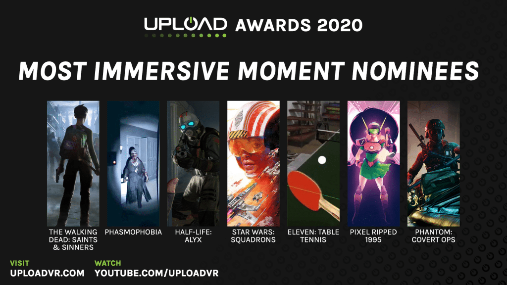 Most Immersive Moment Nominees
