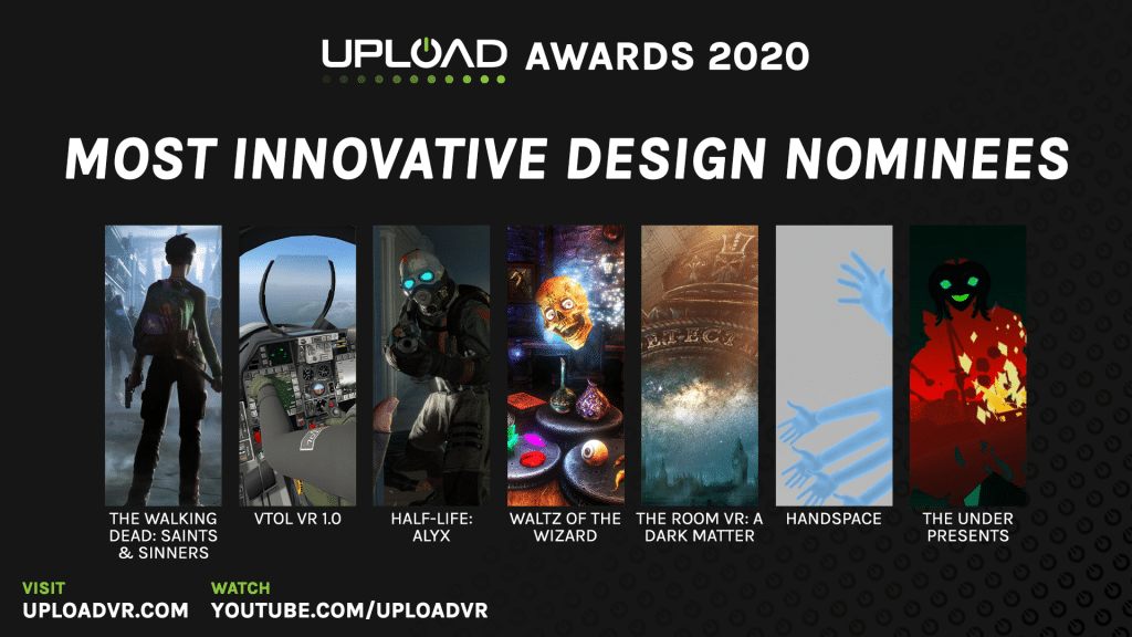 Most Innovative Design Nominees