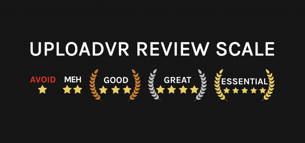 UploadVR Review Scale