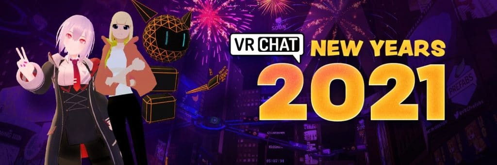 vrchat new years 2021 banner