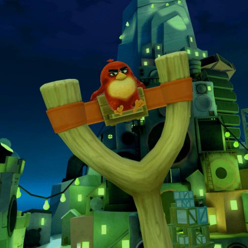 Angry Birds VR Spooky