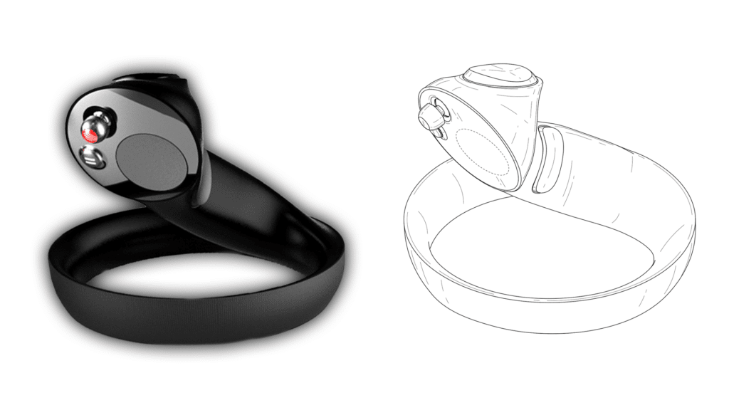 Samsung VR Controllers Patent