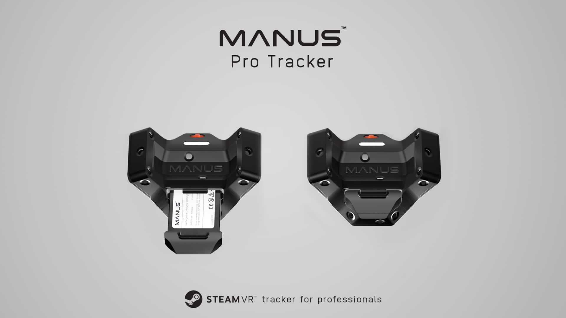 Manus New SteamVR Tracker