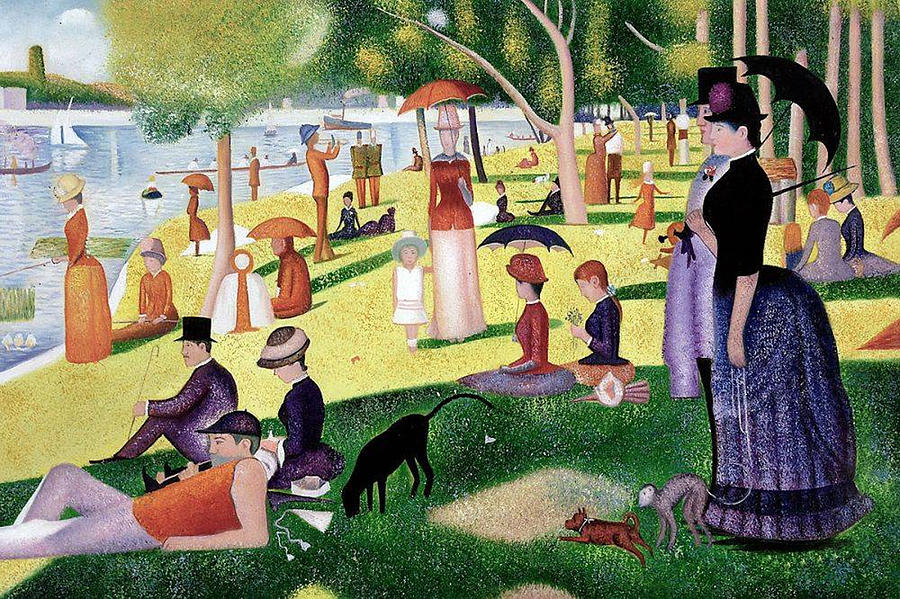 Georges Seurat's A Sunday Afternoon on the Island of La Grande Jatte