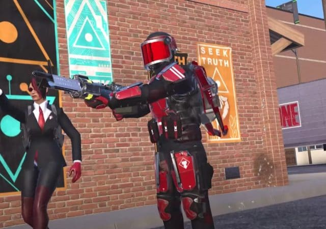 population one season 1 uprising cosmetic red soldier skin gameplay screenshot