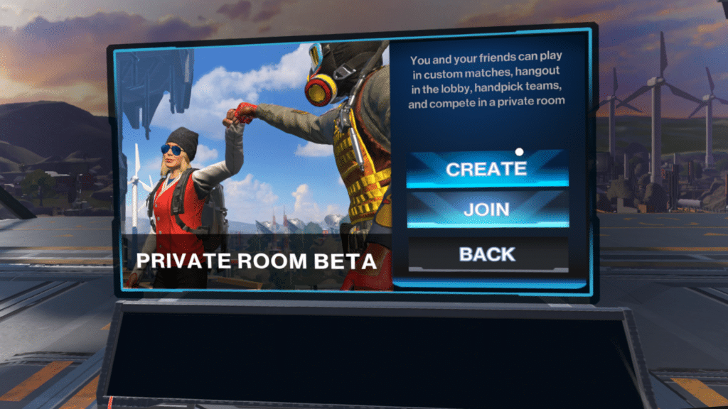 population one private room beta