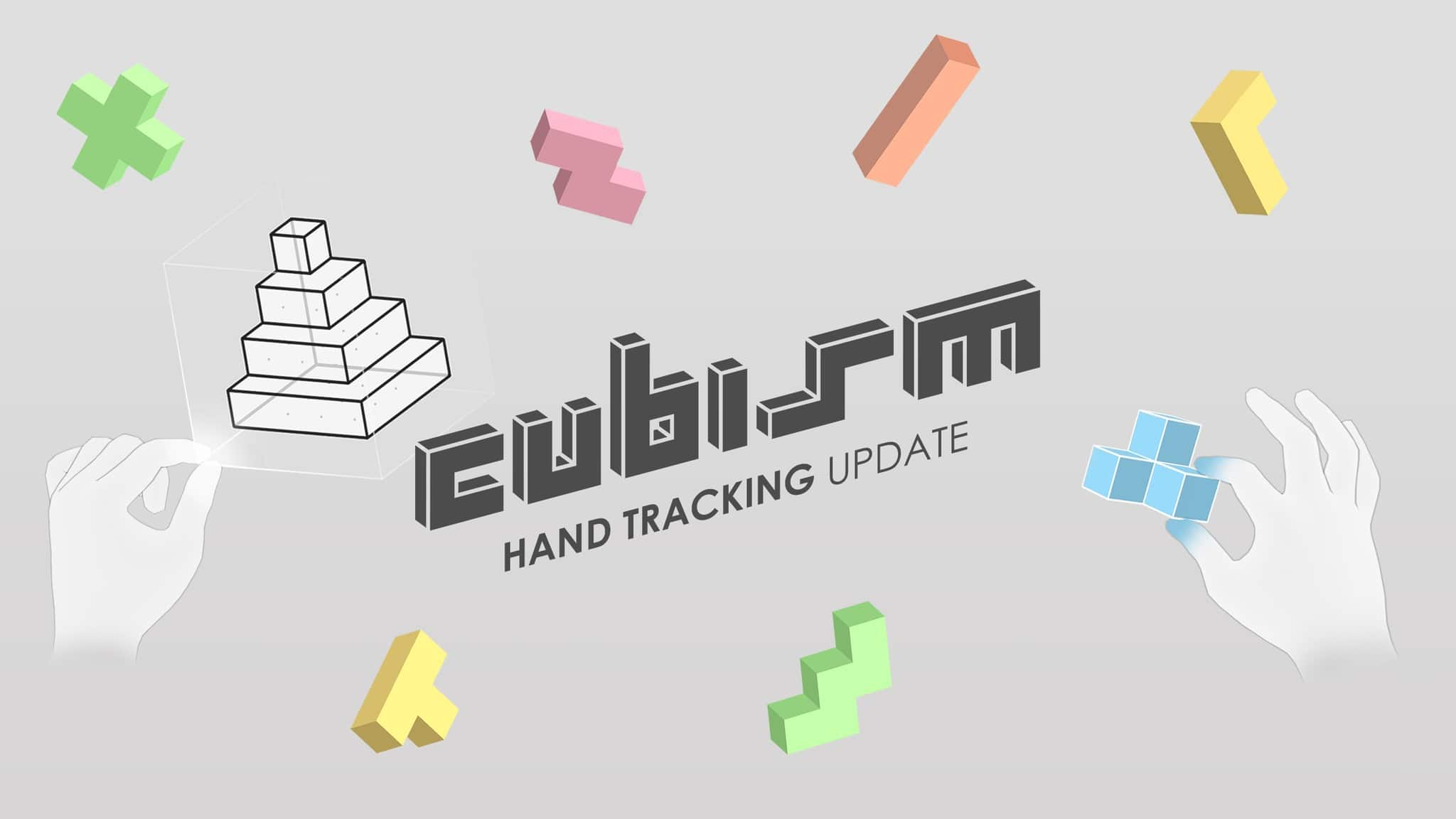 Cubism Hand Tracking Update