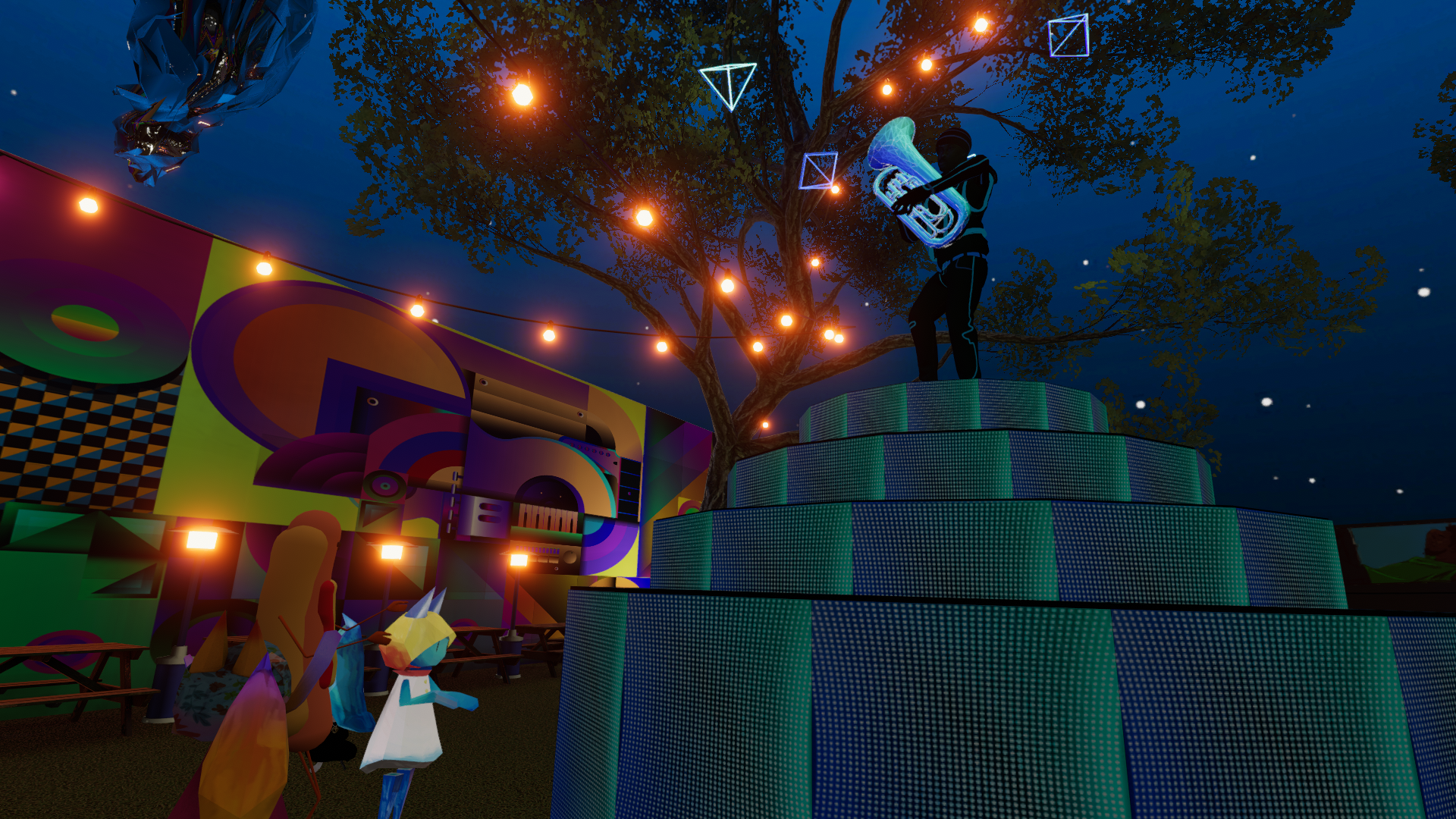 Opening Night Party in VRChat