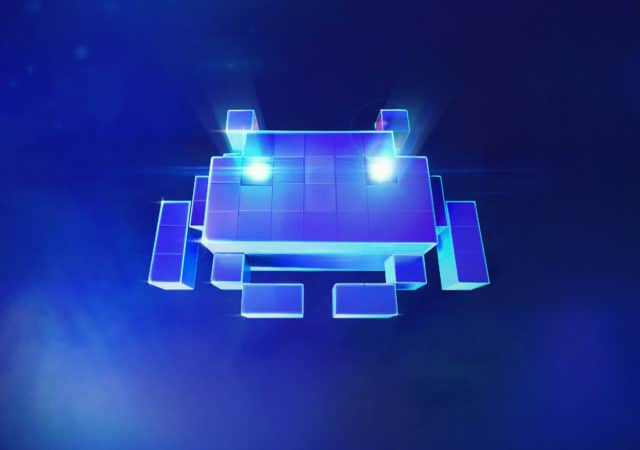 space invaders ar logo image