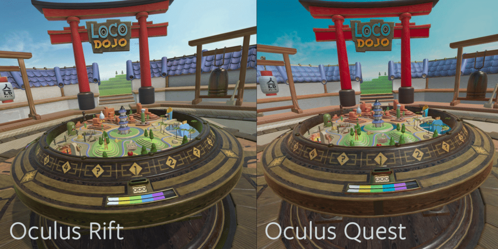 Loco Dojo Unleashed Graphics Comparison