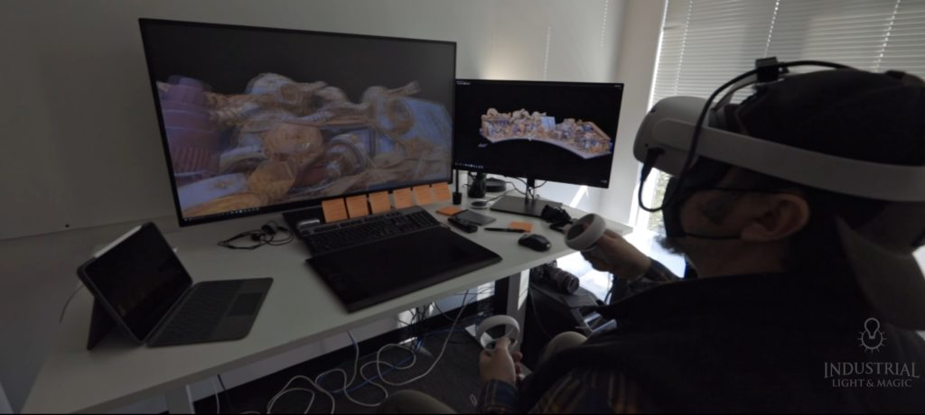 The Mandalorian Making-Of Shows Oculus Quest 2 Used