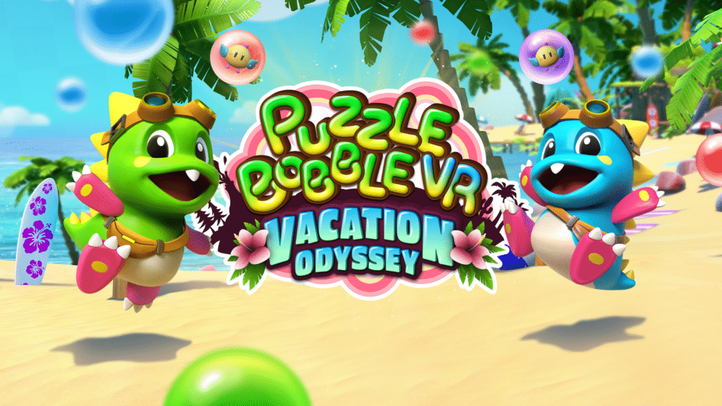 Puzzle Bobble VR: Vacation Odyssey Revealed From Survios And Taito