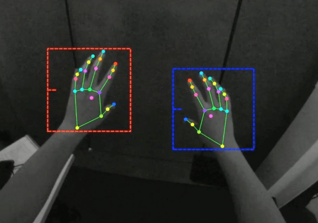 Quest Hand Tracking Greyscale