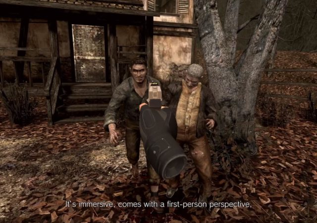 Resident Evil 4 VR Quest 2 Exclusive