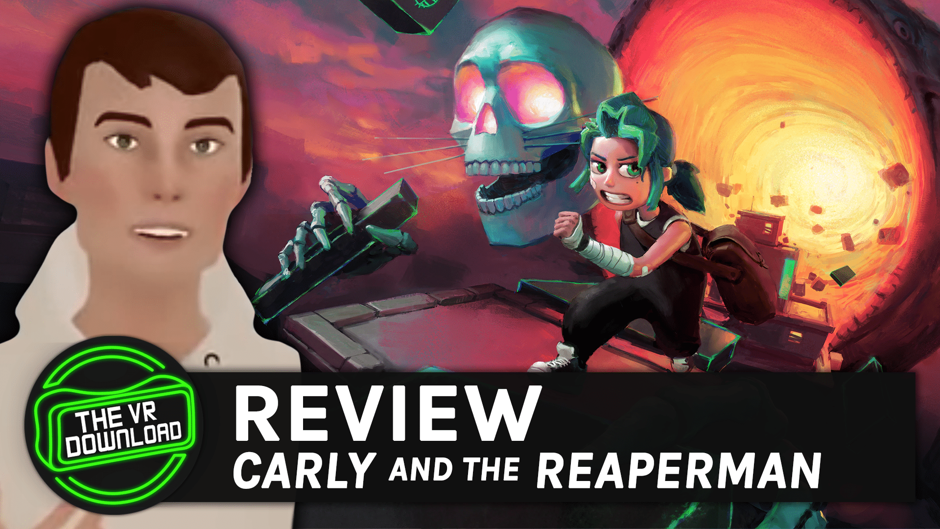 Carly and the Reaperman Quest Review – VR Download
